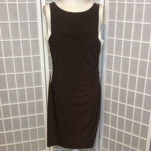Lauren Ralph Lauren button side dress size 16